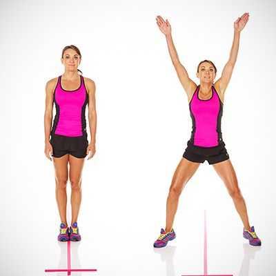 Прыжки джека: польза и жиросжигательный эффект