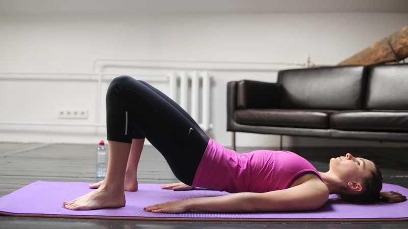 Развитие гибкости спины: упражнения с ольгой сагай