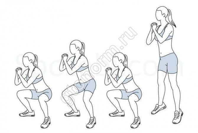 40 видов приседаний для вас! часть 1 — упражнения с собственным весом