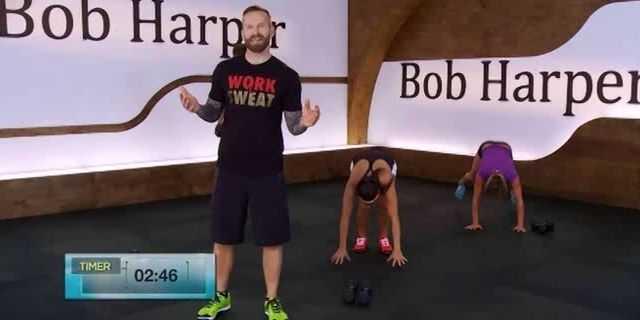 Кардио-тренировка с Бобом Харпером для начинающих