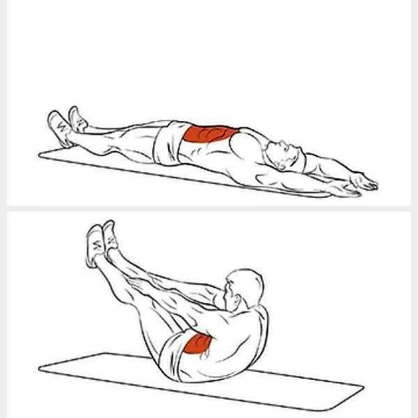 Упражнения на нижний пресс — как правильно качать мышцы низа живота?