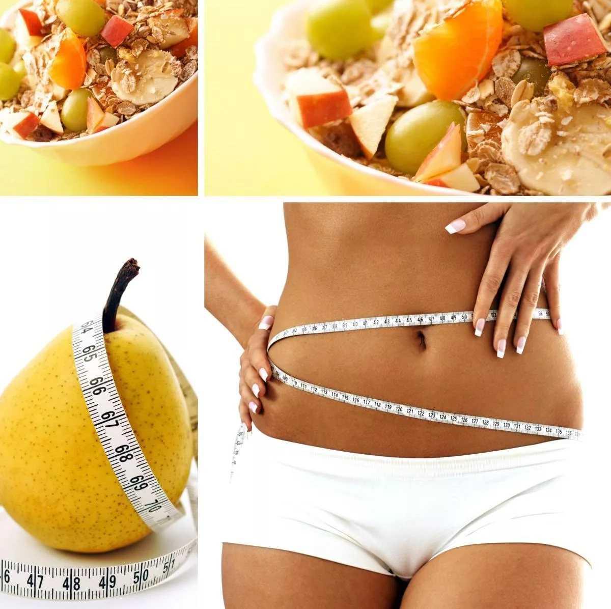 Простая диета для похудения живота