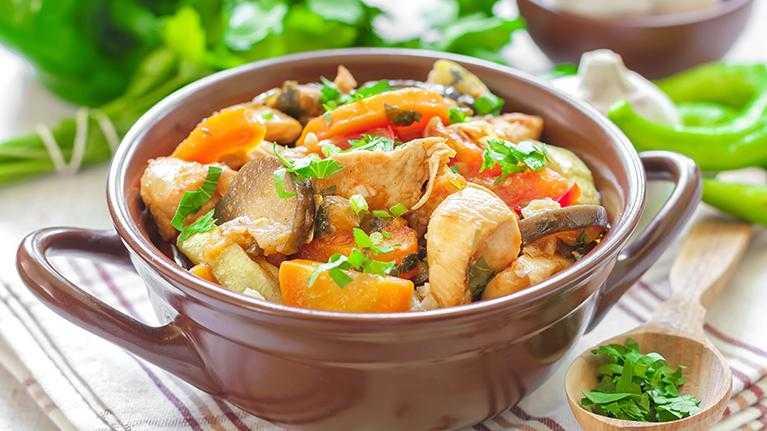 Овощное рагу с мясом (50 рецептов с фото) - рецепты с фотографиями на поварёнок.ру
