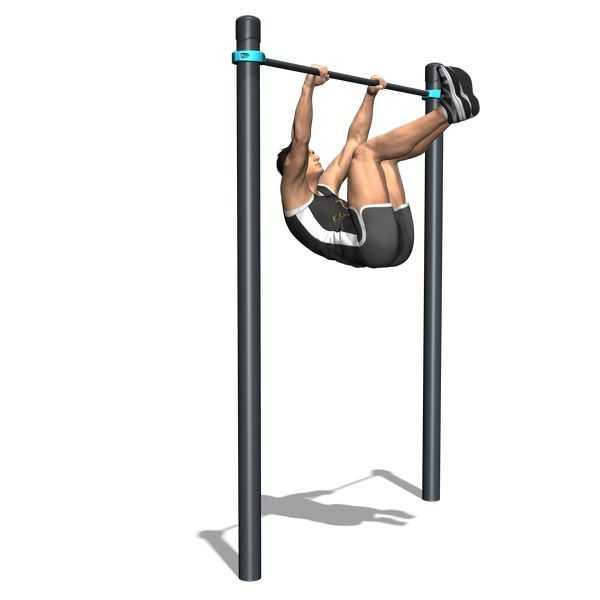 """Описание упражнения """"подъём ног в висе"""": техника, варианты, группы задействованных мышц, интерсеные факты"""