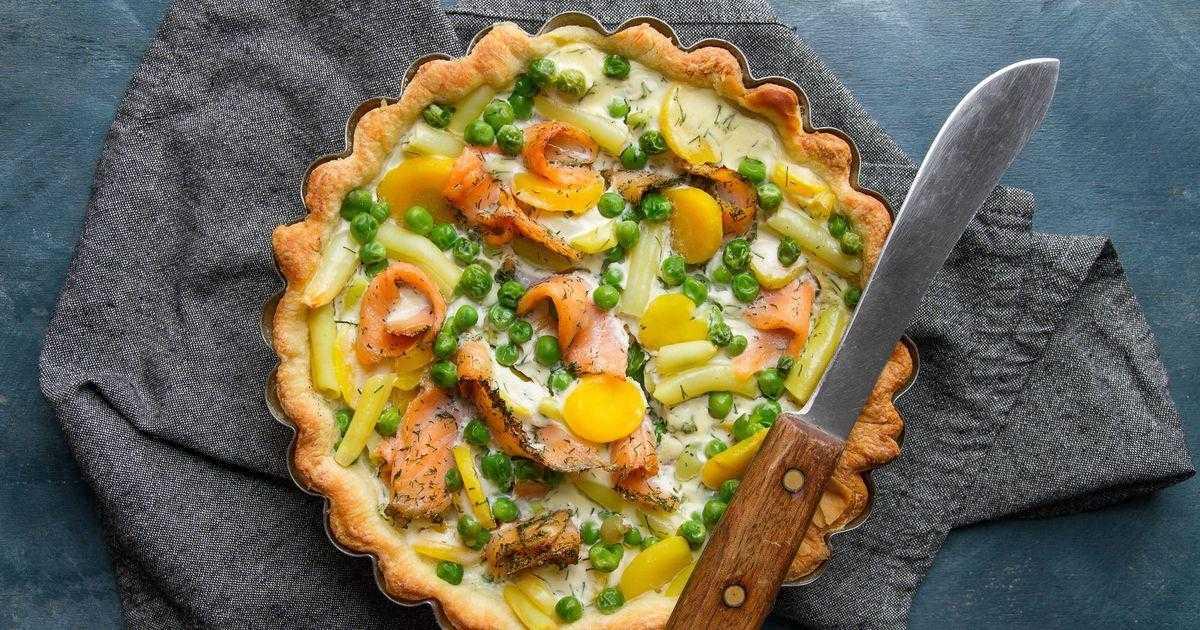 Пирог с семгой / пироги и пирожки / tvcook: пошаговые рецепты с фото