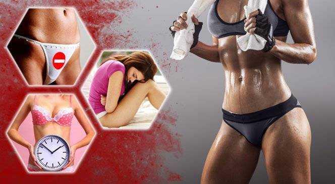 Спорт и диета в различных фазах менструального цикла - фитнес и диеты