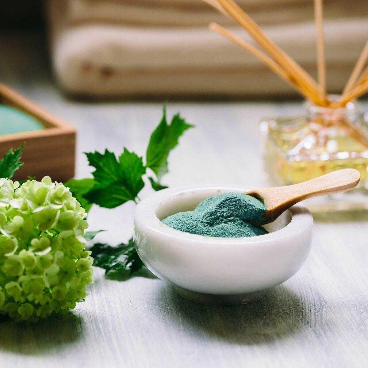 Зеленый смузи для похудения детокс
