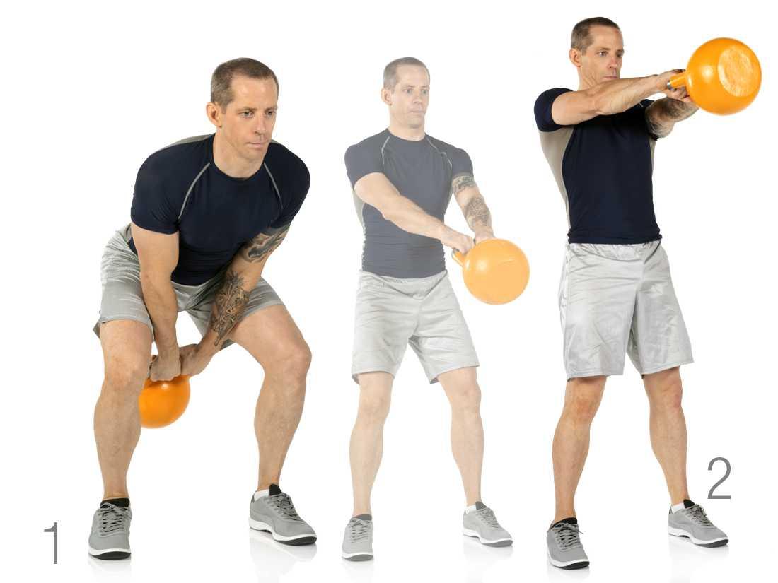 Программа тренировки с гирями на силу и выносливость