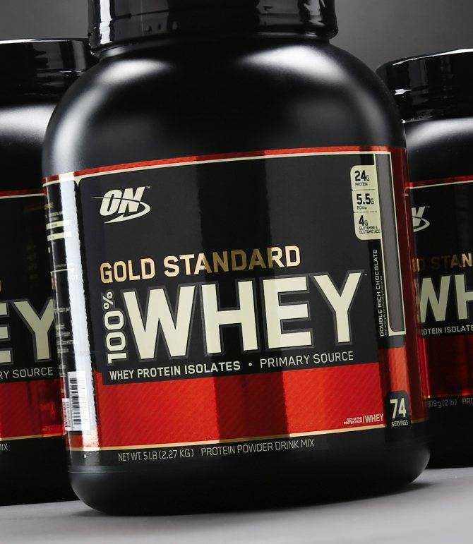 Сывороточный протеин для набора мышечной массы
