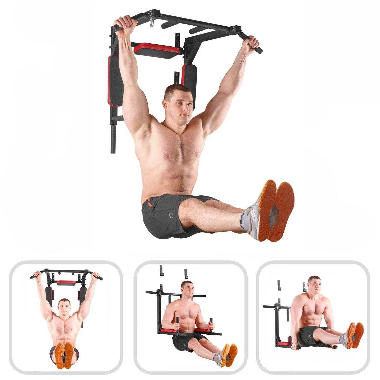Комплекс упражнений на турниках и брусьях на все группы мышц для начинающих и продвинутых