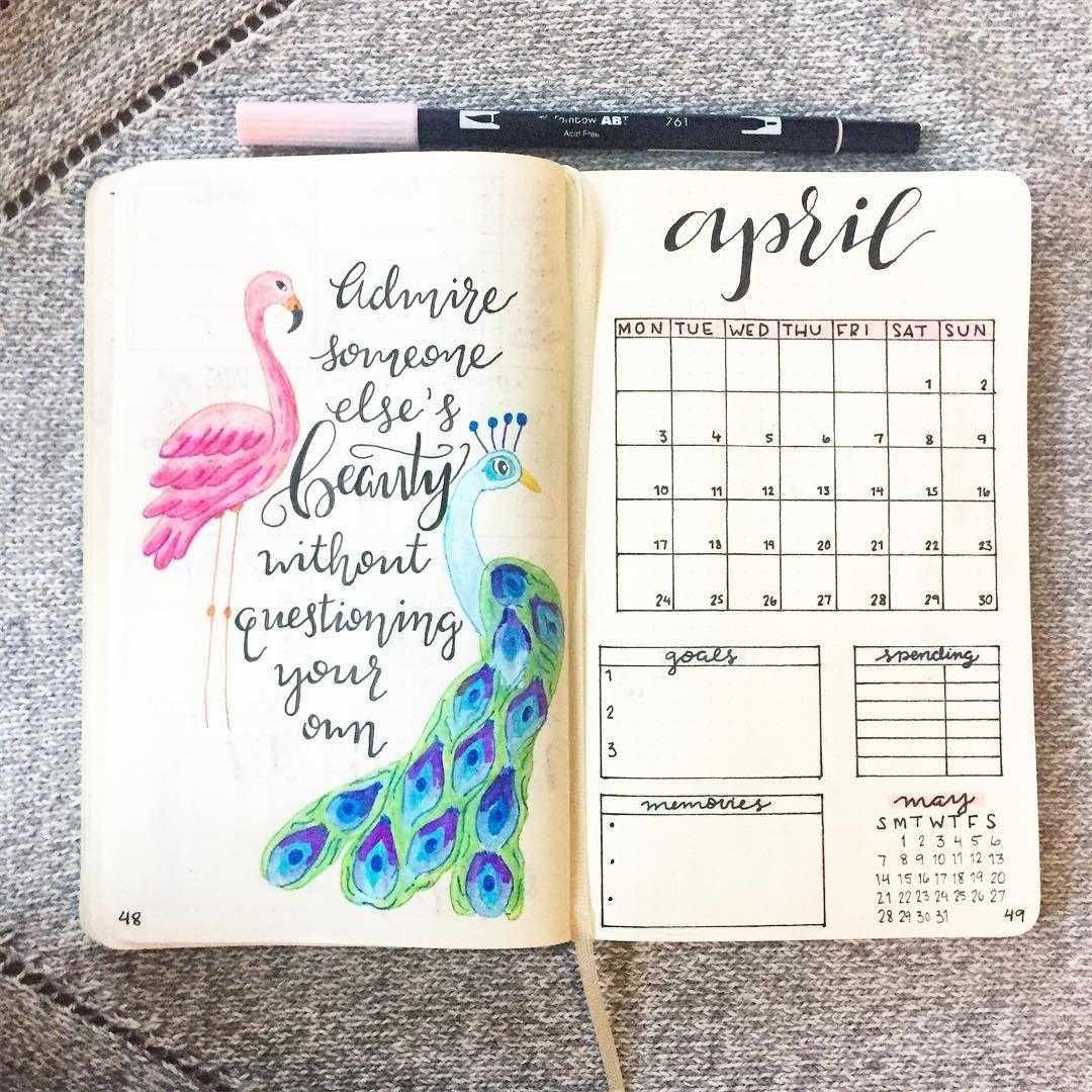 Как вести ежедневник для достижения целей | my bu-jo