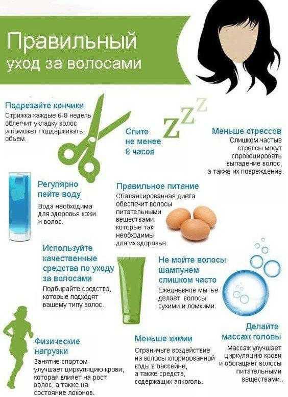 Особенности ухода за волосами весной