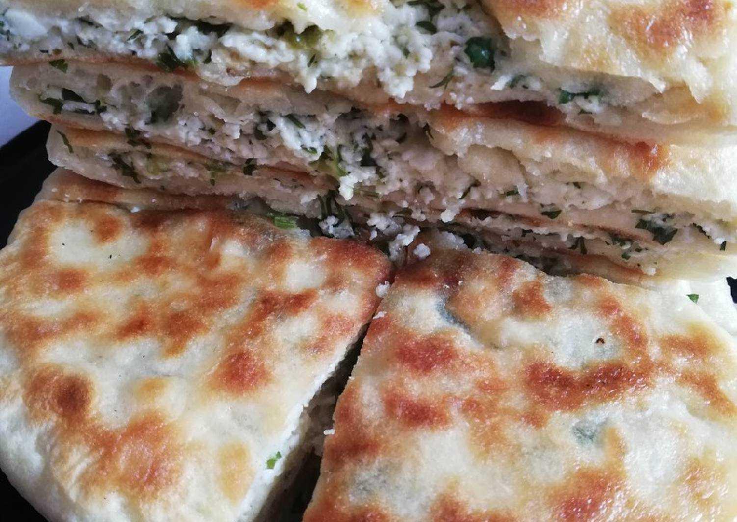 Армянские лепешки с зеленью: невероятно просто и вкусно!