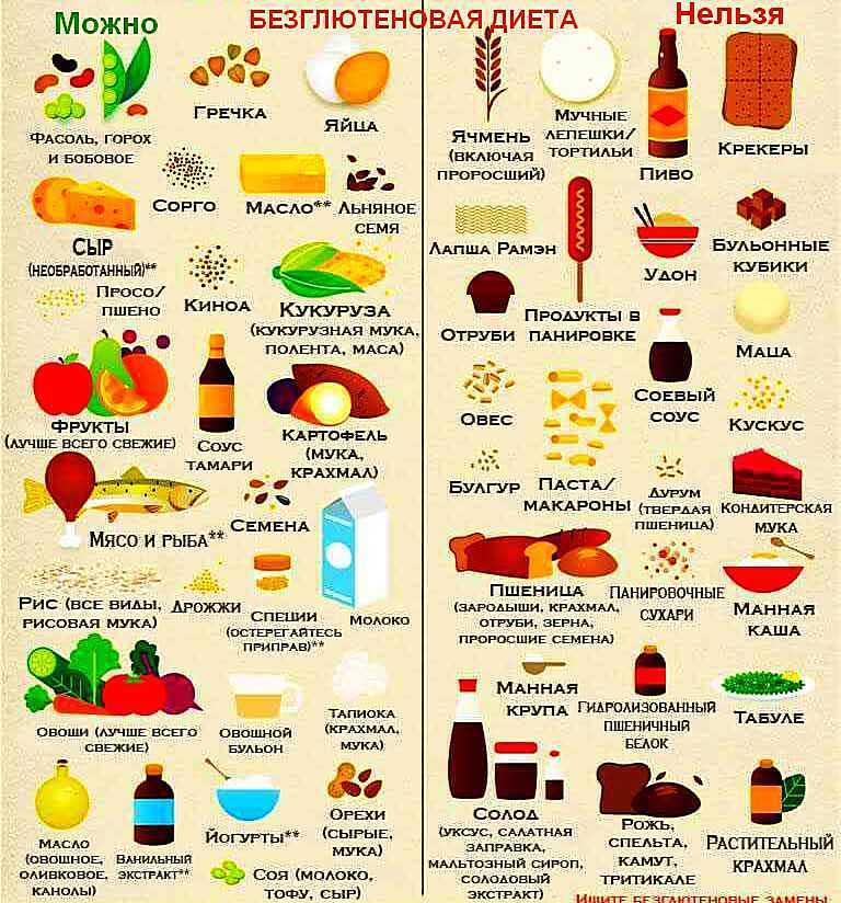 Глютен — что это такое и почему он вреден, где содержится и список продуктов