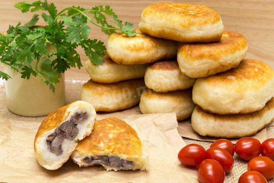 Пирожки с грибами (74 рецепта с фото) - рецепты с фотографиями на поварёнок.ру
