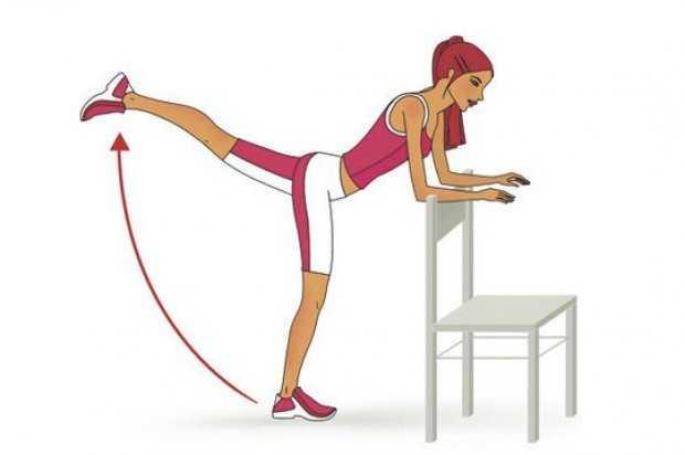 Упражнения для бёдер и ягодиц в домашних условиях