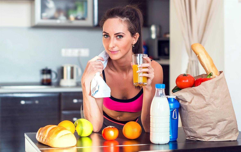 Как обрести красивые формы: принципы питания при силовых тренировках для похудения для женщин