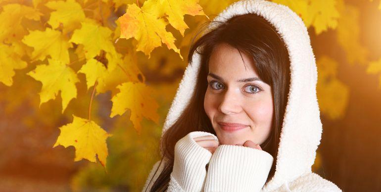 Осенний уход за кожей