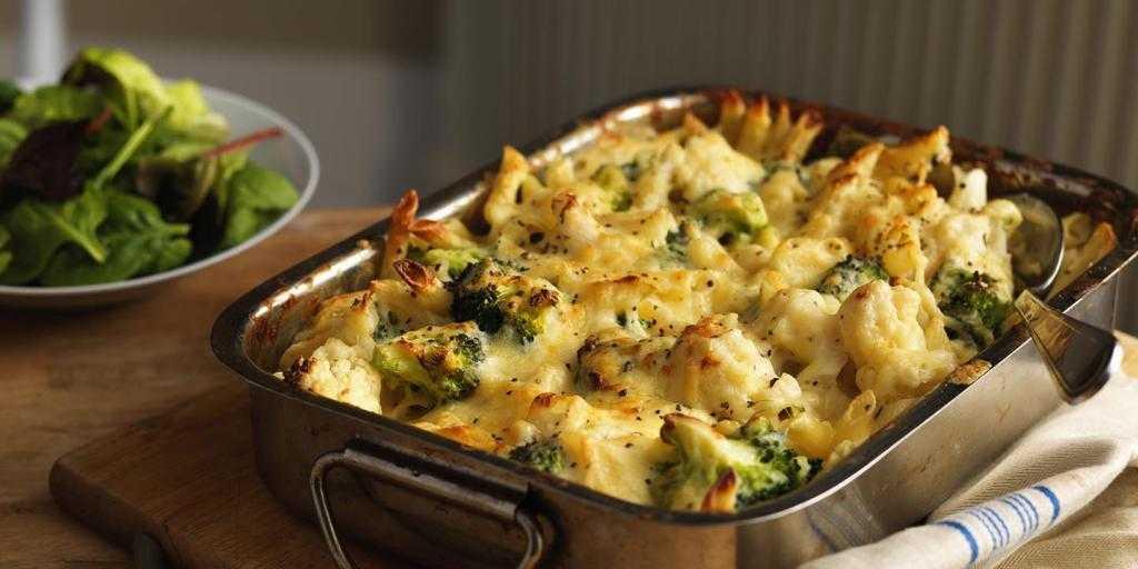 Готовим диетические блюда из цветной капусты — 7 простых рецептов для духовки