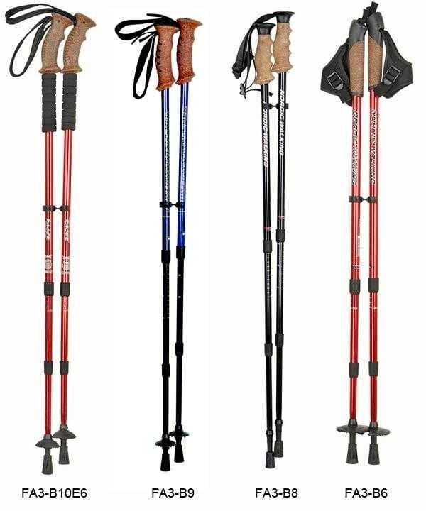 Палки для скандинавской ходьбы: как выбрать размер, таблица