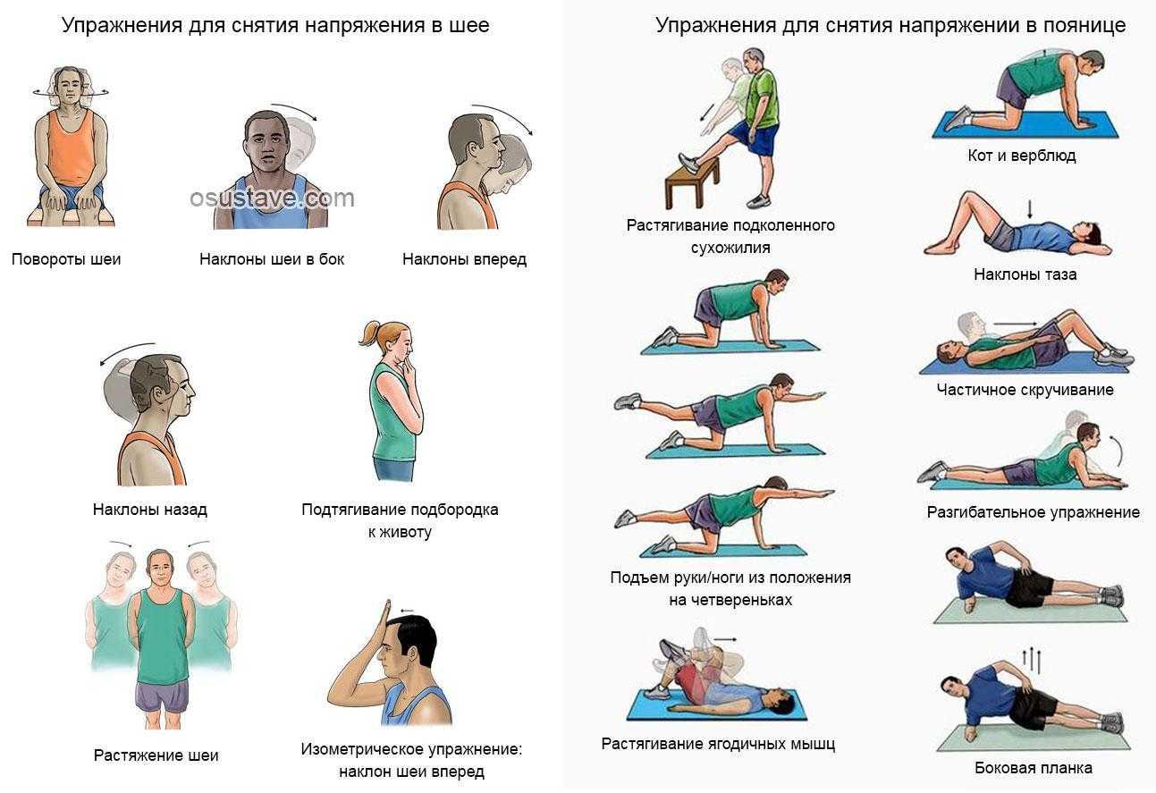 Упражнения при остеохондрозе пояснично-крестцового отдела позвоночника - выбираем лучшие!