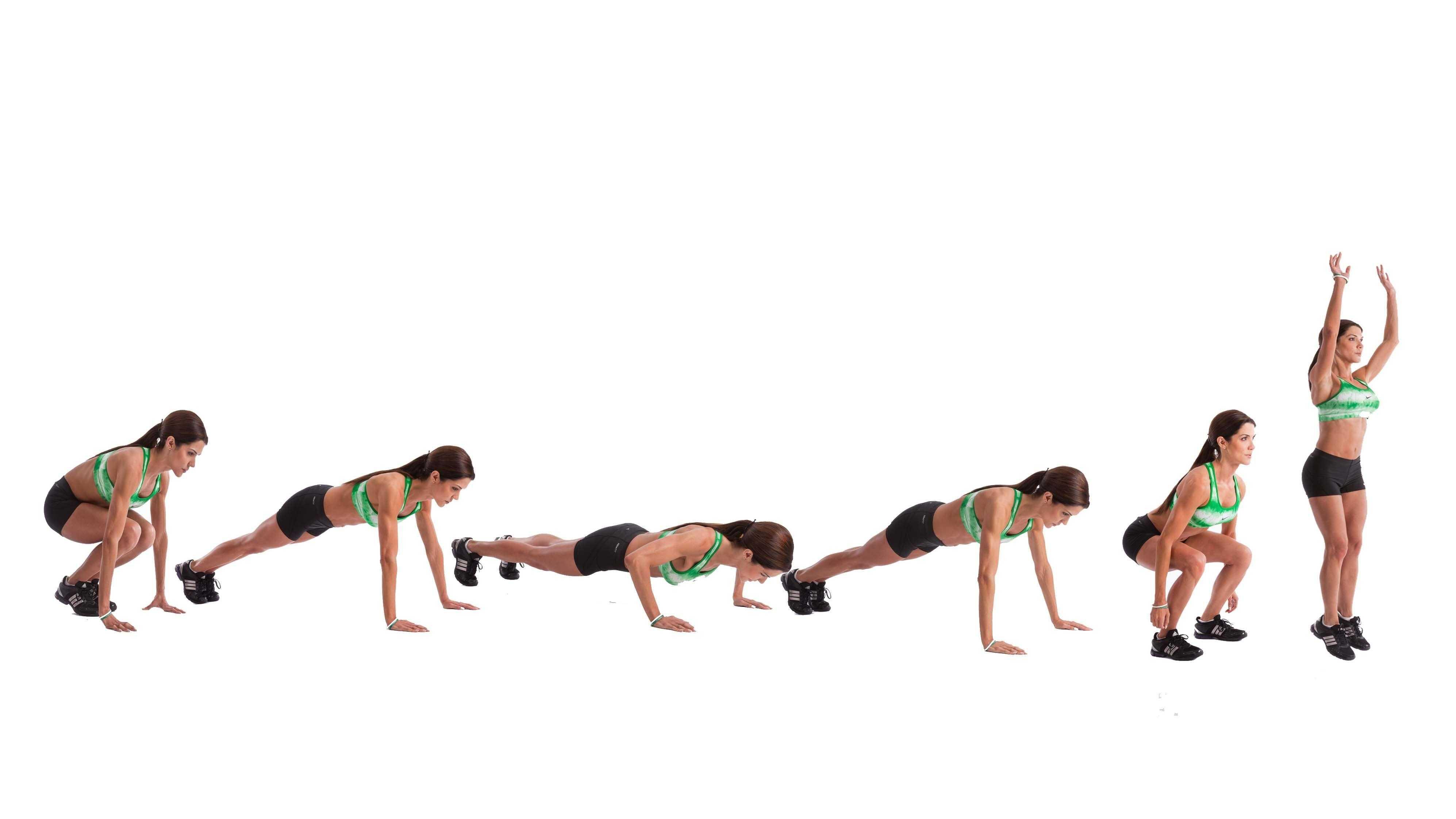 4-х дневный комплекс упражнений для девушек на похудение и рельеф