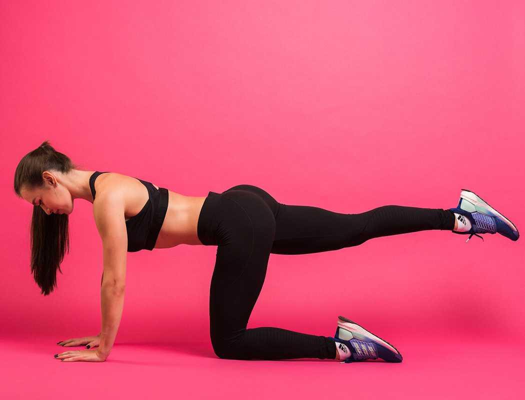 5 горячих упражнений, которые помогут избавиться от галифе на бёдрах