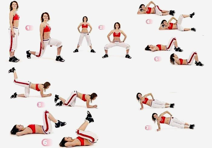 20 упражнений для внутренней части бедра в домашних условиях, чтобы убрать жир, подтянуть и накачать мышцы бедер и ног