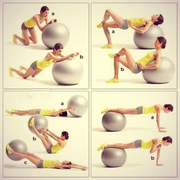 Все о гимнастическом мяче для фитнеса