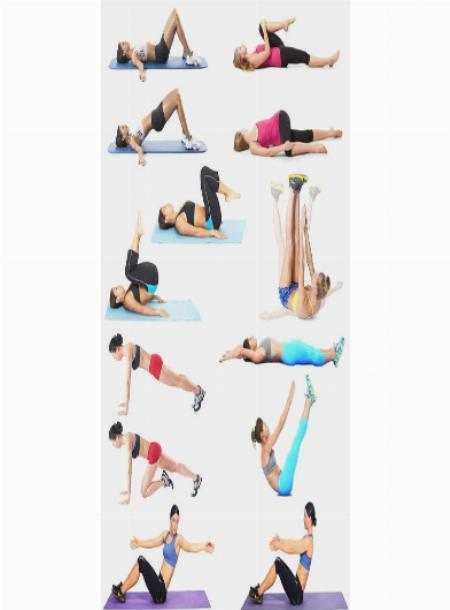 Топ статических упражнений, которые быстро приведут вас в идеальную