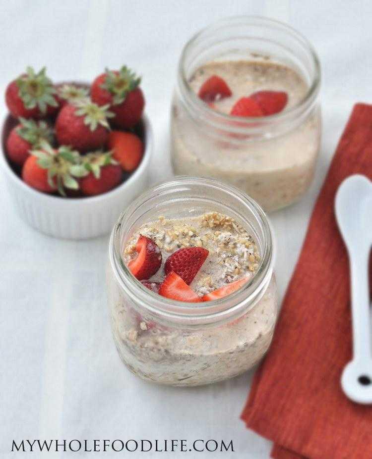 Ленивая овсянка в банке - завтрак для похудения (рецепты)