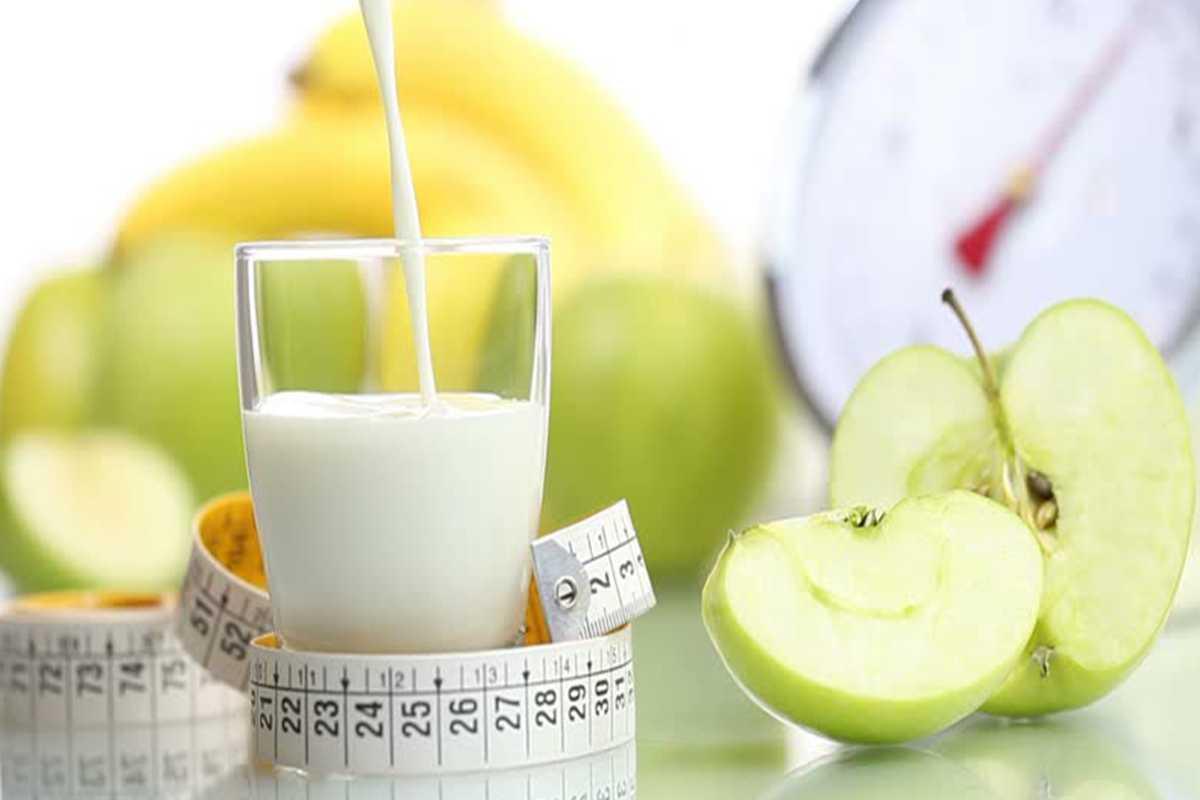 Разгрузочный день на кефире и яблоках для похудения - результаты
