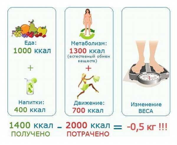 Суточная норма калорий: ? сколько калорий нужно человеку в день чтобы похудеть