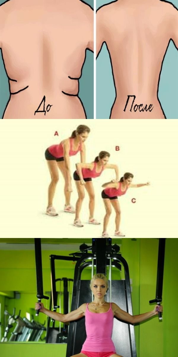 10 упражнений для избавления от складок на спине и боках