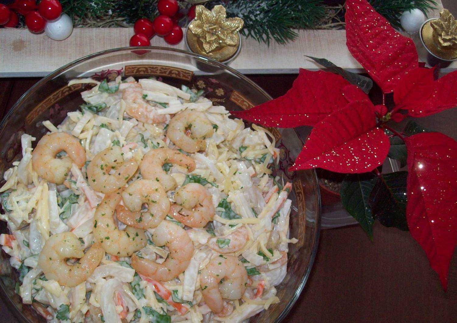 Рецепт: салат морской бриз