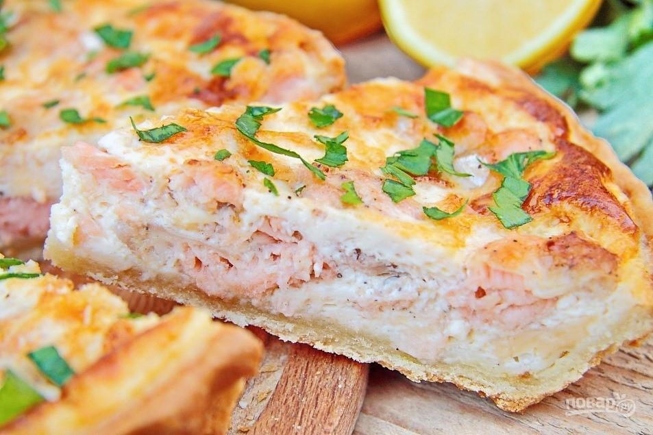 Пирог с семгой (24 рецепта с фото) - рецепты с фотографиями на поварёнок.ру