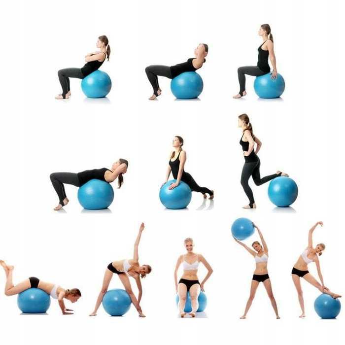 20 суперэффективных упражнений на фитболе