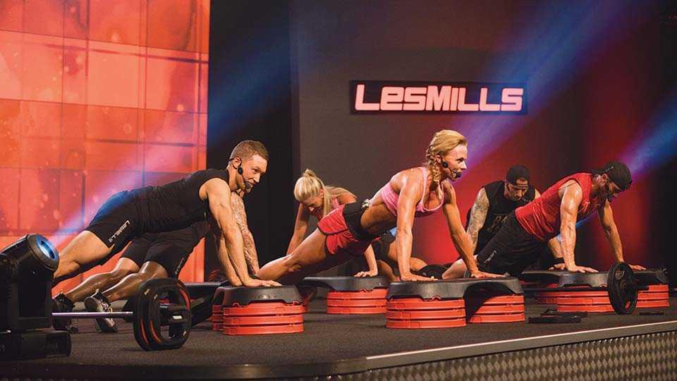 Body Step от Les Mills: обзор программы и особенности