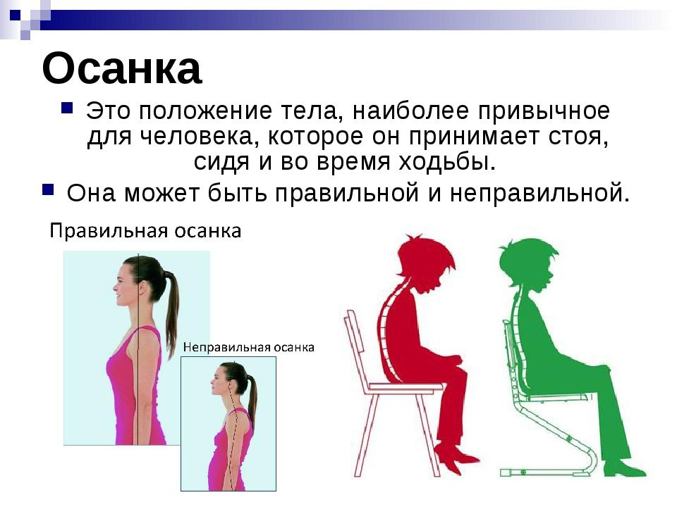 Какая осанка – правильная, и можно ли исправить нарушение осанки?  | kadrof.ru