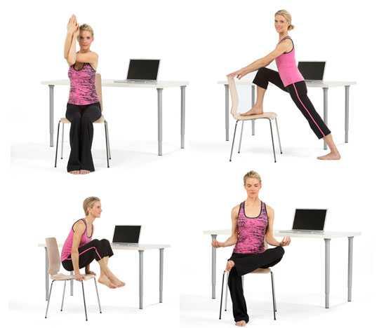 Производственная гимнастика: упражнения на рабочем месте, физкультпауза в офисе. новости партнеров - новости партнеров 175. metro