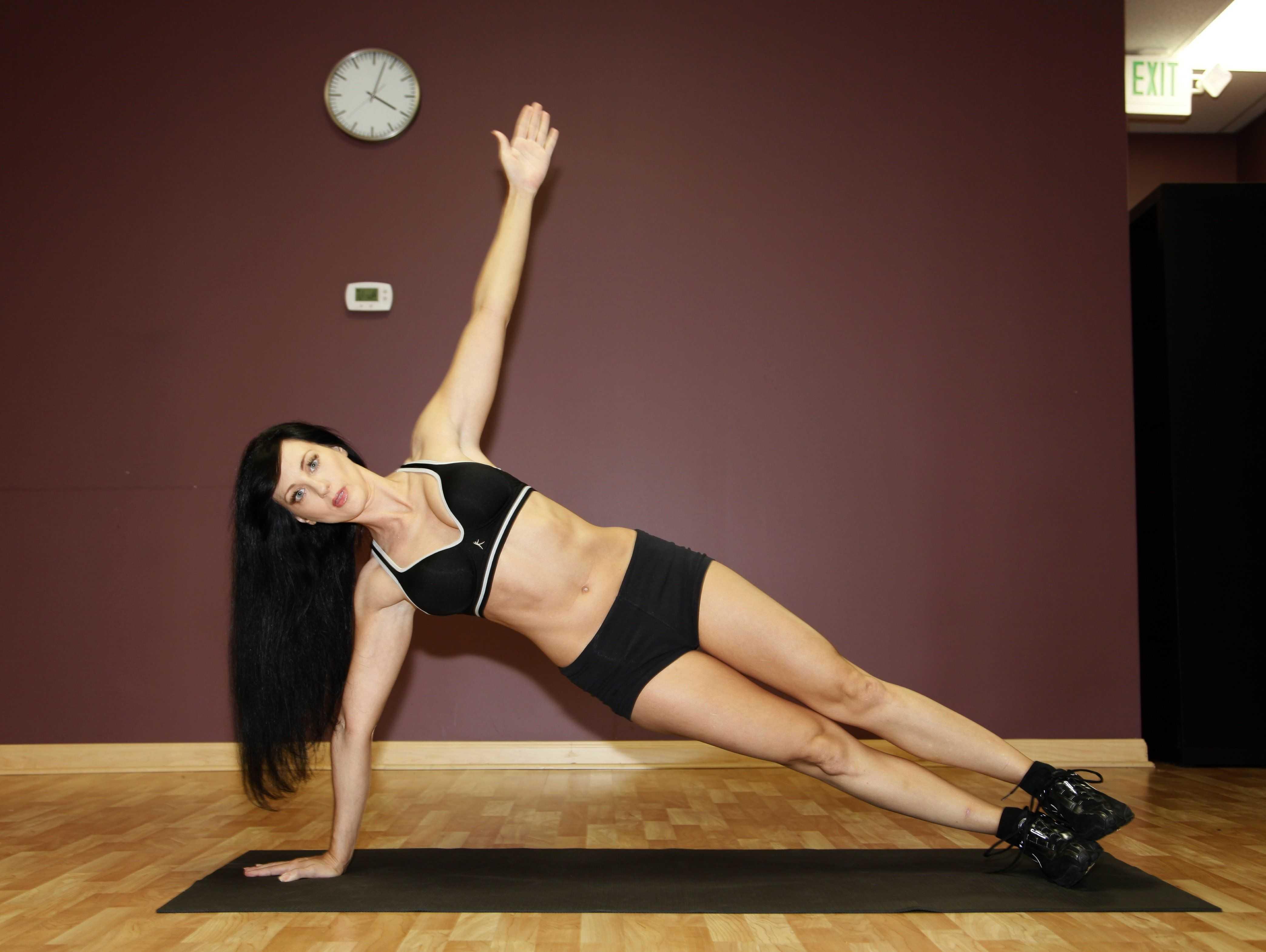 Изометрические упражнения: польза и вред