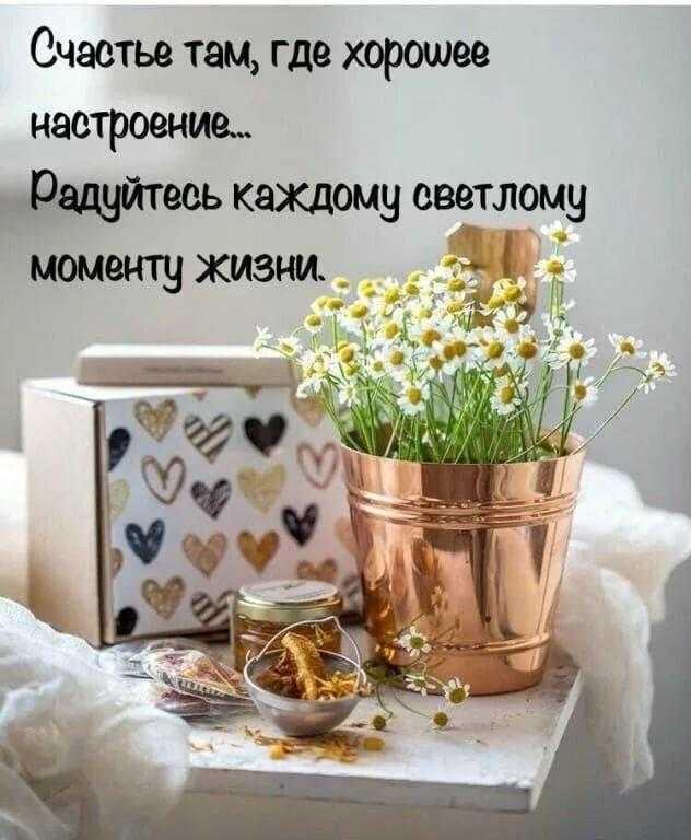 Пожелания доброго утра и дня красивые и смешные