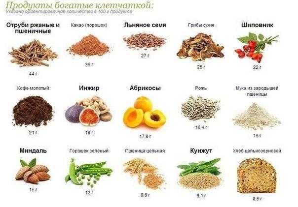 Пищевые волокна (клетчатка). роль в питании.