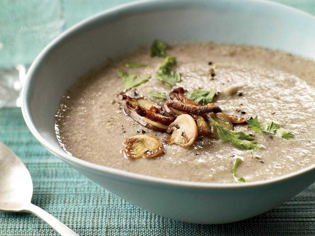 Грибной суп пюре из грибов - 28 рецептов - 1000.menu
