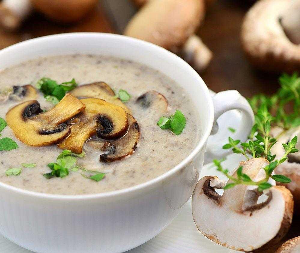 Крем-суп из шампиньонов – кулинарный рецепт