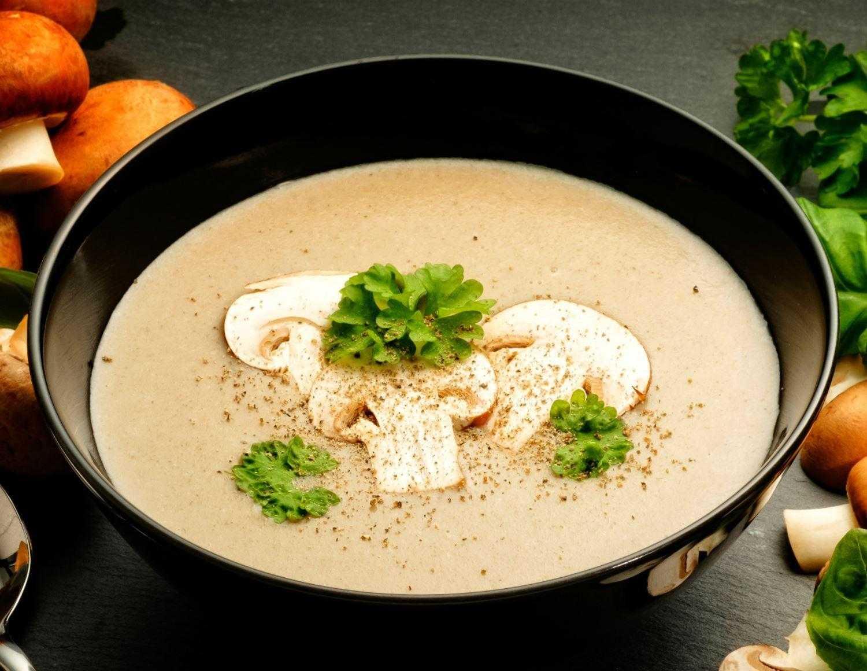 Грибной крем-суп – кулинарный рецепт