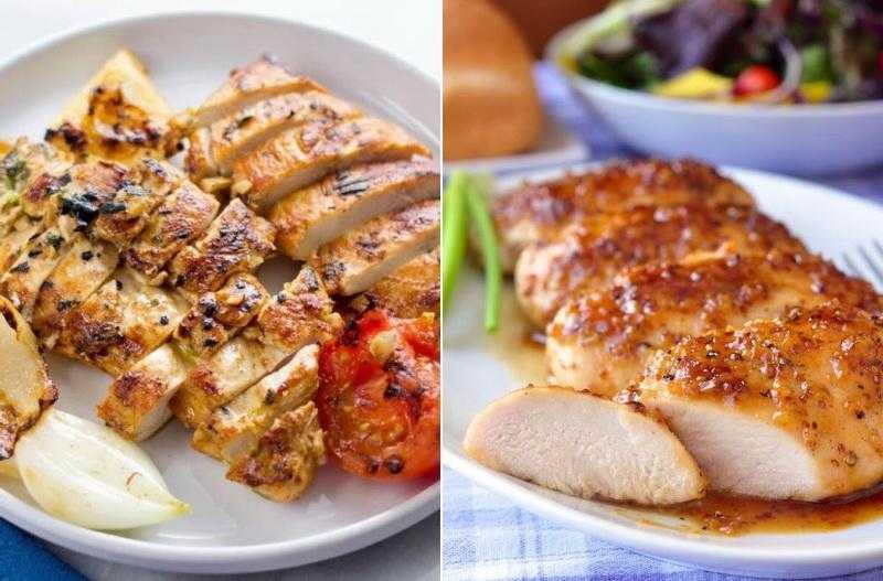 Низкокалорийный рецепт приготовления нежной куриной грудки