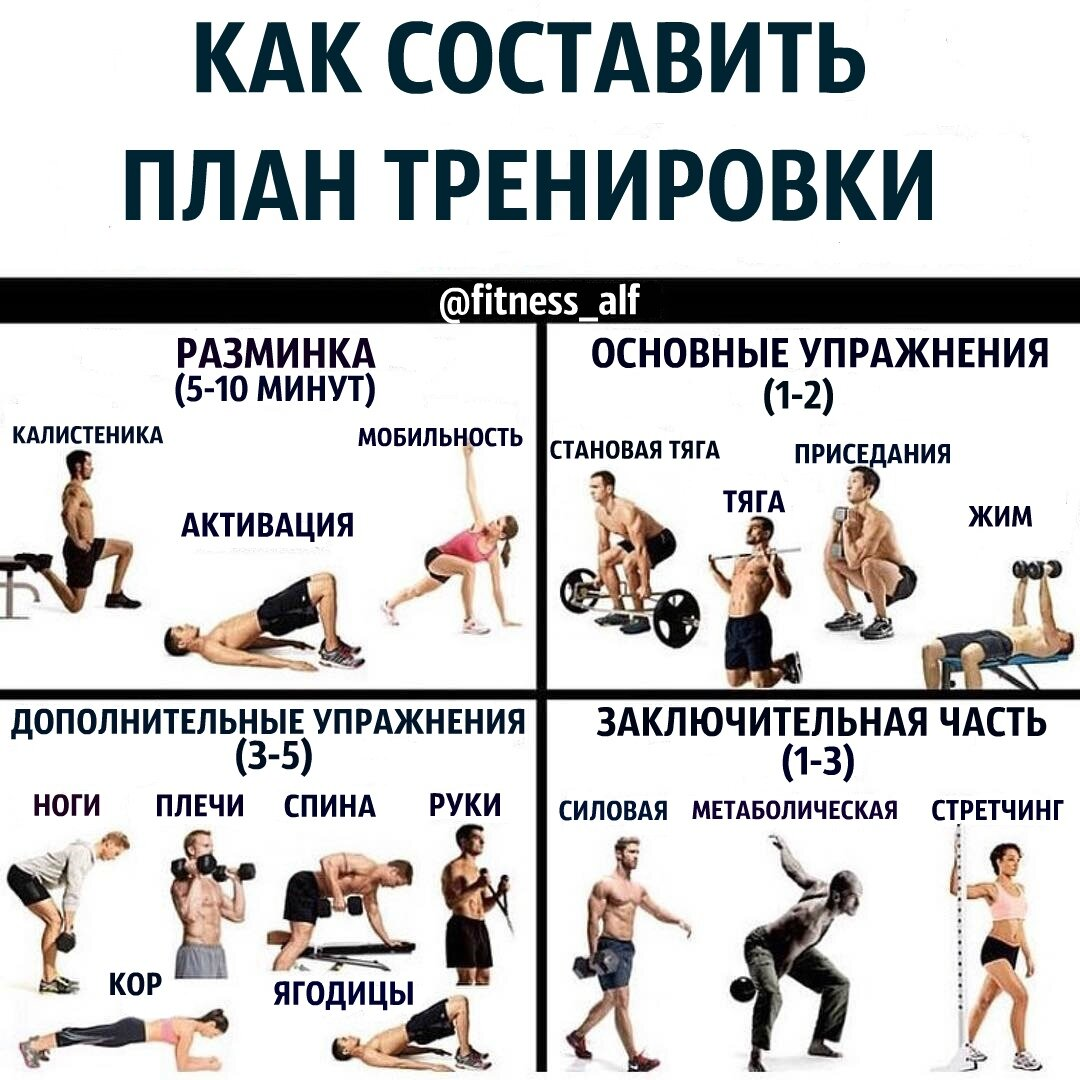 Силовые тренировки: самая важная информация для старта
