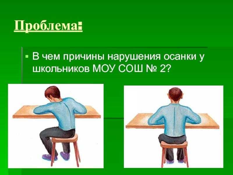 Комплекс упражнений для выпрямления осанки