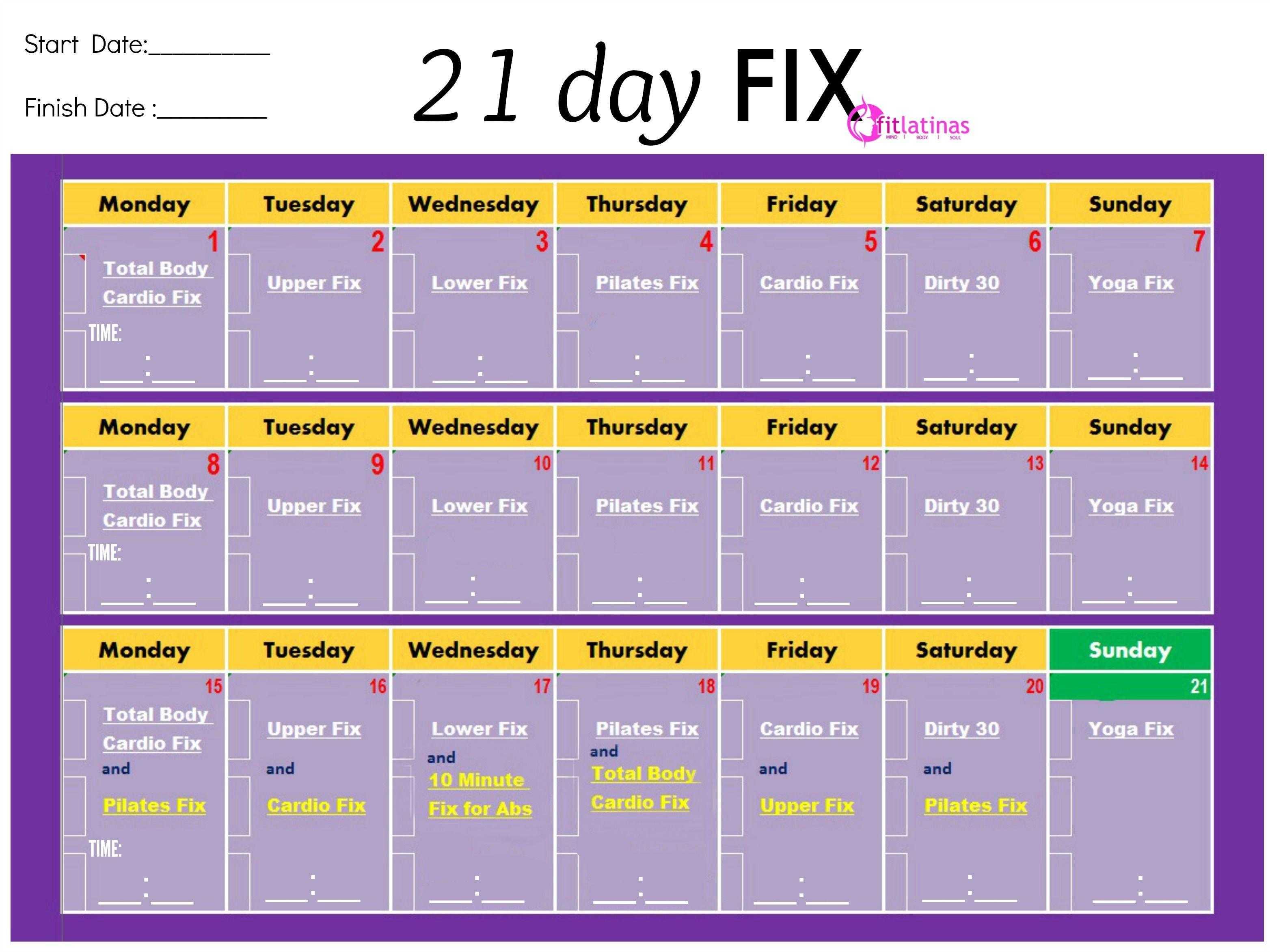 Программа 21 Day Fix: описание, отзывы, плюсы, минусы